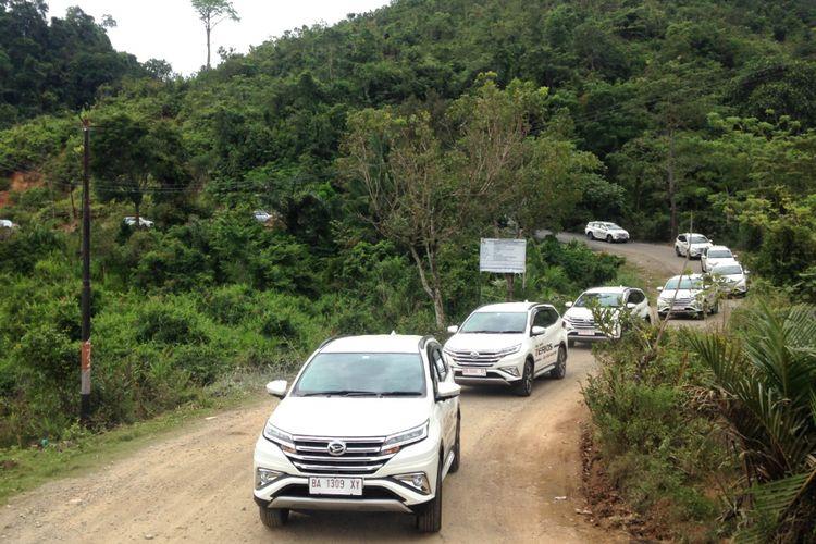 Test Drive Daihatsu All New Terios di Padang.
