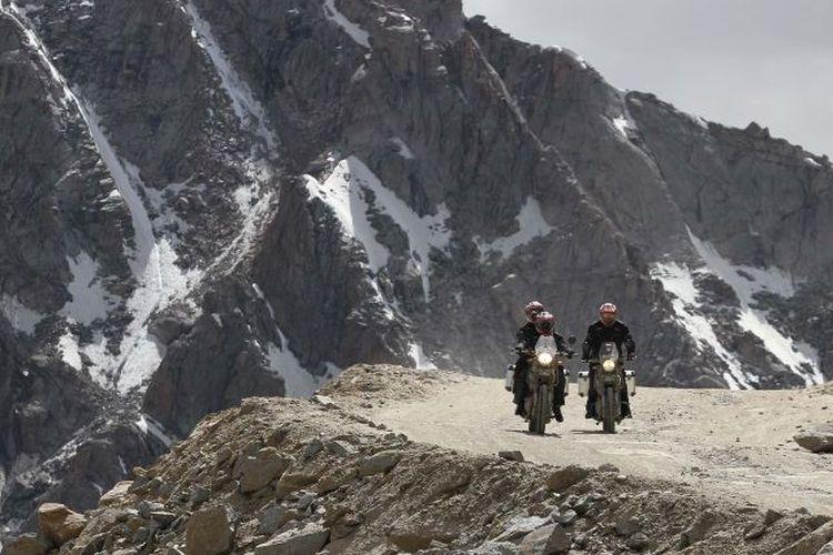 19 Rider Indonesia Taklukkan Jalur Pegunungan Himalaya