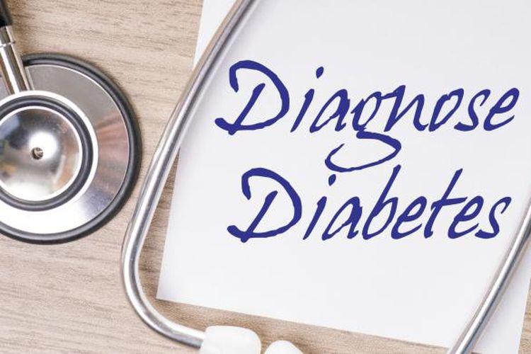 Ilustrasi diabetes.