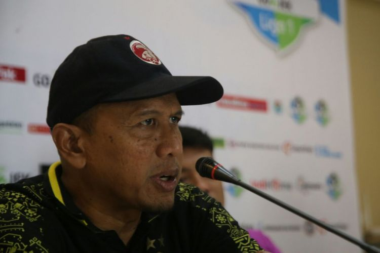 Pelatih Sriwijaya FC Rahmad Darmawan