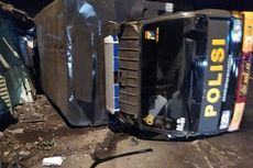 Iring-iringan Mobil Polisi Alami Kecelakaan Beruntun, Ini Penyebabnya