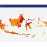Terbaru, Daftar 131 Daerah Berstatus Zona Merah Covid-19 di Indonesia
