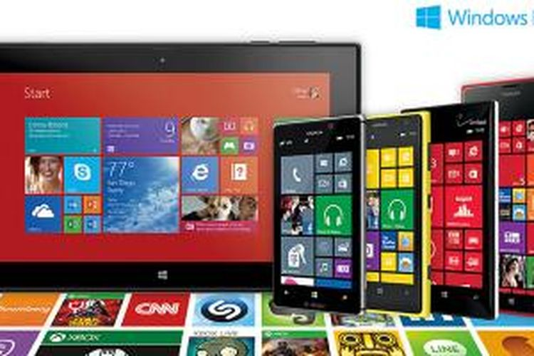 Aplikasi dalam Windows Phone