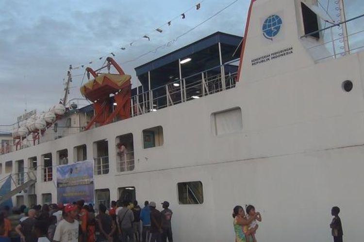 Ilustrasi: kapal ferry