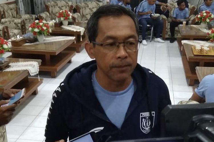 Pelatih Persela Lamongan, Aji Santoso.