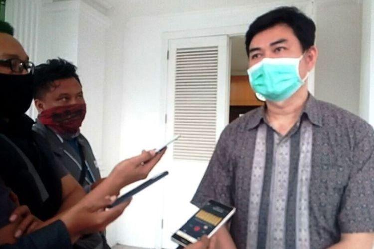 Juru Bicara Satgas Percepatan Penanganan Covid-19 Kabupaten Cianjur, Jawa Barat, Yusman Faisal