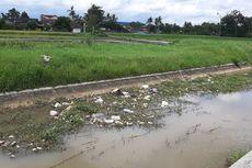 Petani Buat Sayembara untuk Tangkap Pembuang Sampah di Selokan Mataram