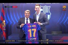 Luuk de Jong Ambil Alih Loker Lionel Messi di Ruang Ganti Barcelona