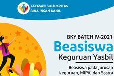 Yasbil Tawarkan Beasiswa Keguruan di 4 PTN Jakarta dan Bandung