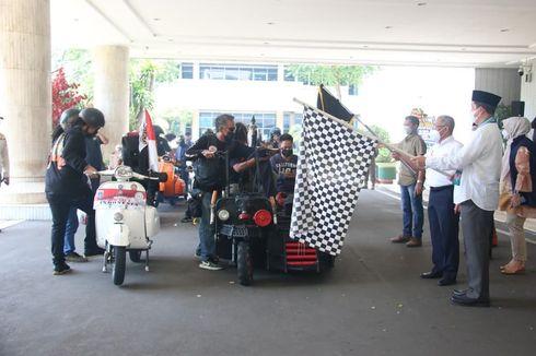 Scooterist Jakarta Utara Keliling Indonesia, Promosikan 12 Destinasi Wisata