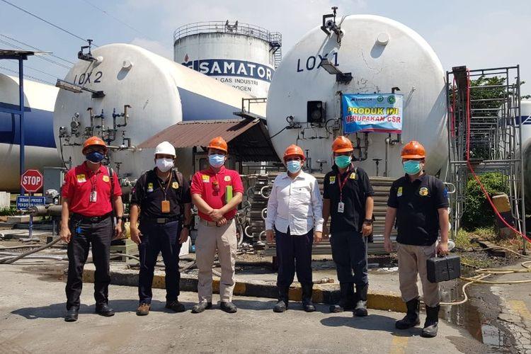 Pengawasan terhadap penyediaan dan pendistribusian ISO Tank yang dilakukan oleh Kementerian Ketenagakerjaan melalui Pengawas Ketenagakerjaan.