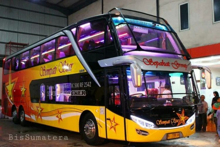 Bus AKAP PO Sempati Star