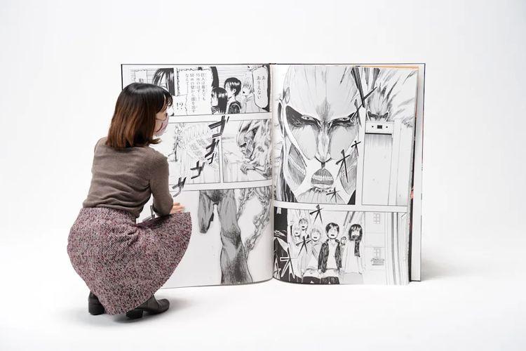 Manga terbesar di dunia