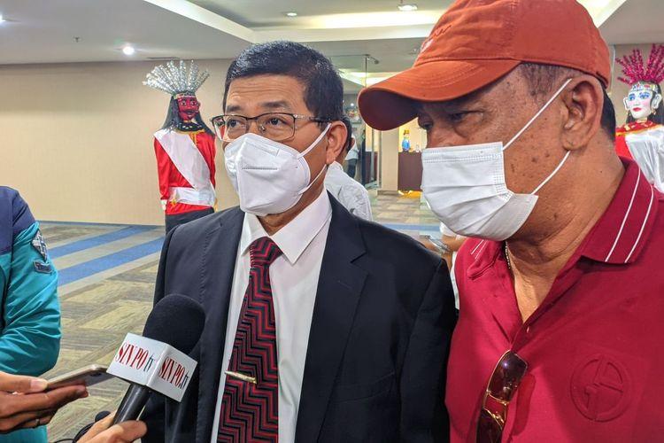 Sekretaris Daerah DKI Jakarta Marullah Matali saat ditemui di Gedung DPRD DKI Jakarta, Rabu (15/9/2021)