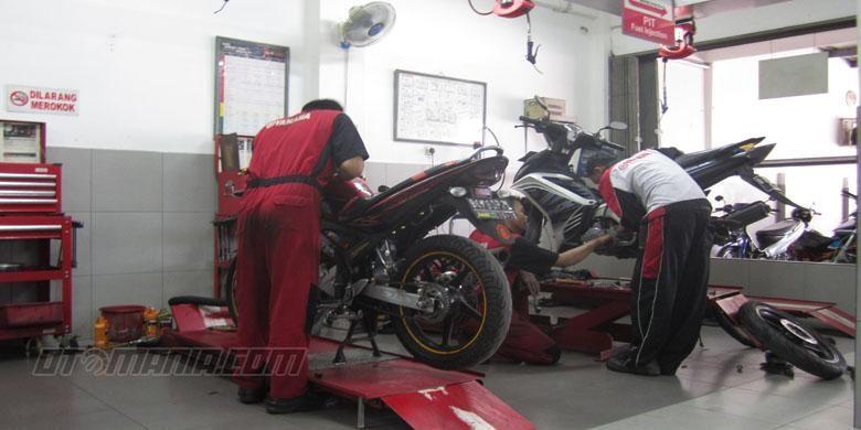 Bengkel Yamaha Miki Motor Duren Sawit