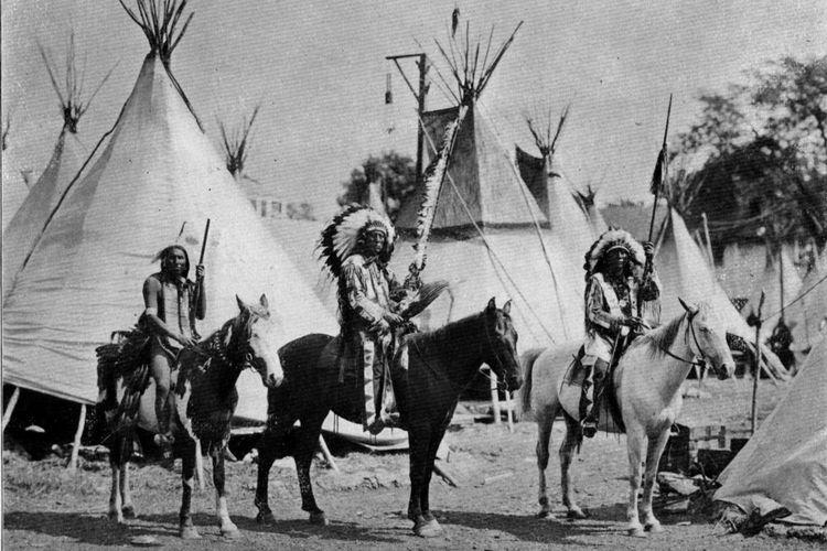 Suku Indian Amerika dalam Kongres Indian pada 1901.