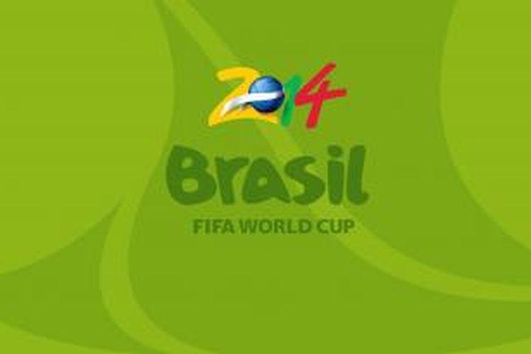 Logo Piala Dunia 2014 Brasil.