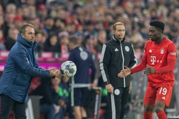 Pelatih Bayern Muenchen, Hans-Dieter Flick.