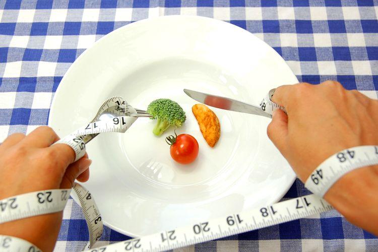 Ilustrasi diet ketat. Setelah melahirkan, ahli gizi tidak menyarankan ibu melakukan diet ketat demi kesehatannya dan bayinya.