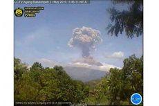 Ini Daerah yang Terpapar Hujan Abu Vulkanik Pasca-erupsi Gunung Agung Siang Tadi