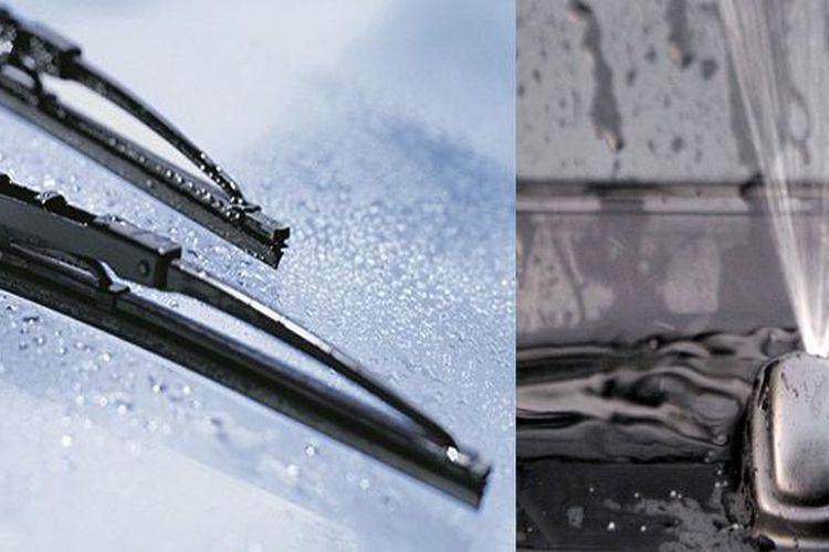 Ilustrasi pengecekan fungsi wiper