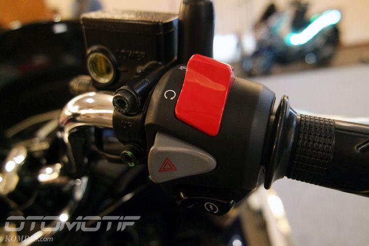 Fitur engine cut off pada Honda PCX Hybrid.