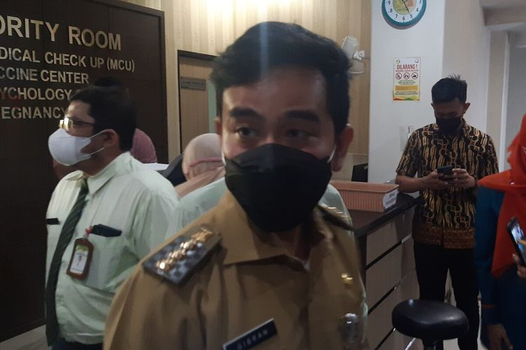 Wali Kota Solo, Gibran Rakabuming Raka di Solo, Jawa Tengah, Senin (21/6/2021).
