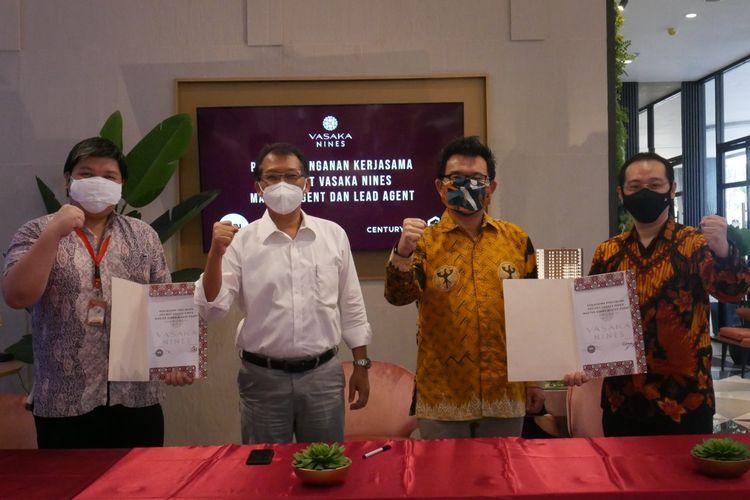 Apartemen Vasaka Nines yang dirilis PT Waskita Karya Realty menjalin kerja sama dengan dua agen properti terpilih, yaitu Century Indonesia dan Starhome, Rabu (4/8/2021).