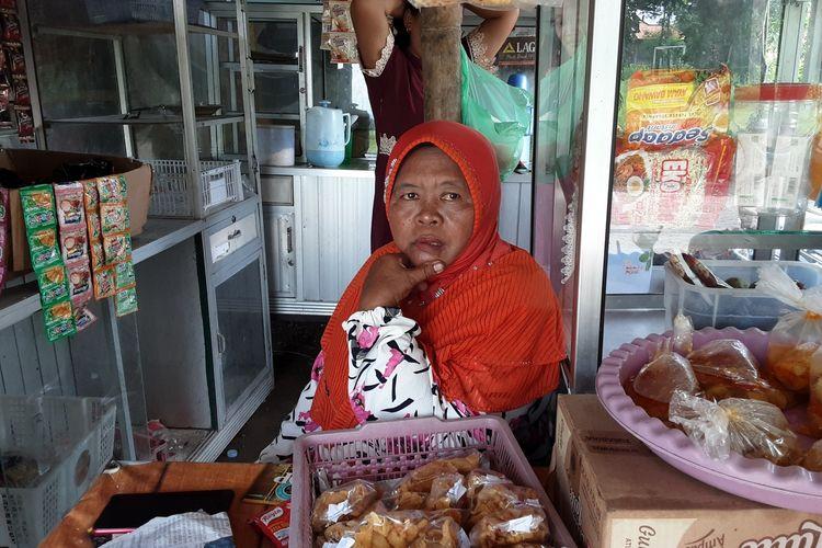 Ramisah, ibu yang digugat oleh anaknya. KOMPAS.COM/SLAMET PRIYATIN