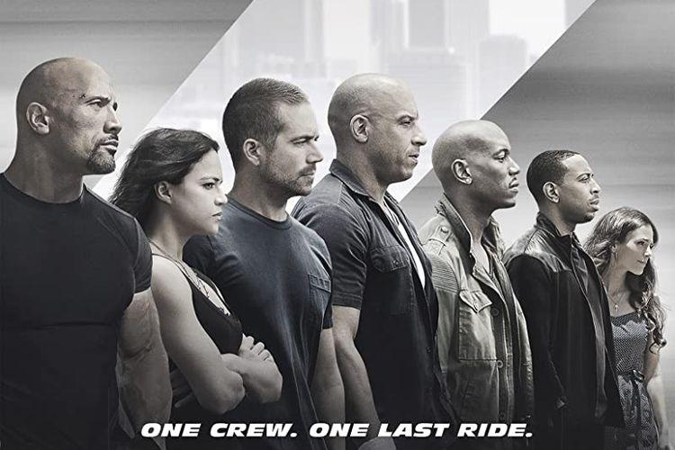 Fast & Furious 7, aksi terakhir Paul Walker balapan