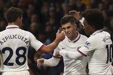 Burnley Vs Chelsea, Hat-trick Sempurna Pulisic Menangkan The Blues