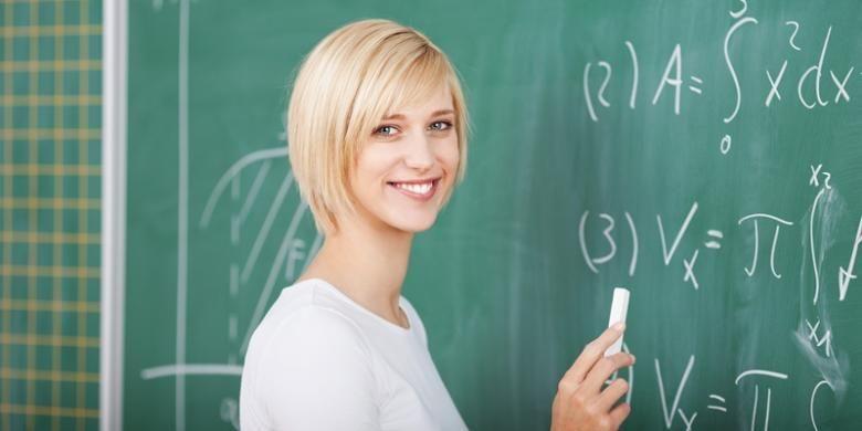 Guru matematika.