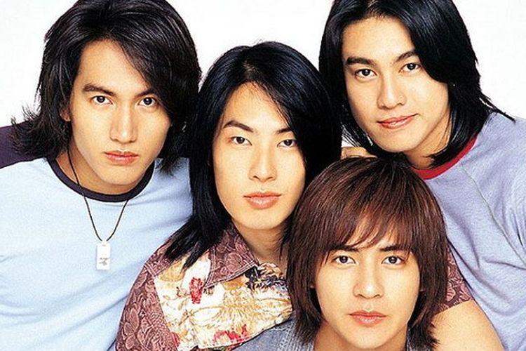 Kuartet asal Taiwan F4, Jerry Yan, Vanness Wu, Ken Chu, dan Vic Chou