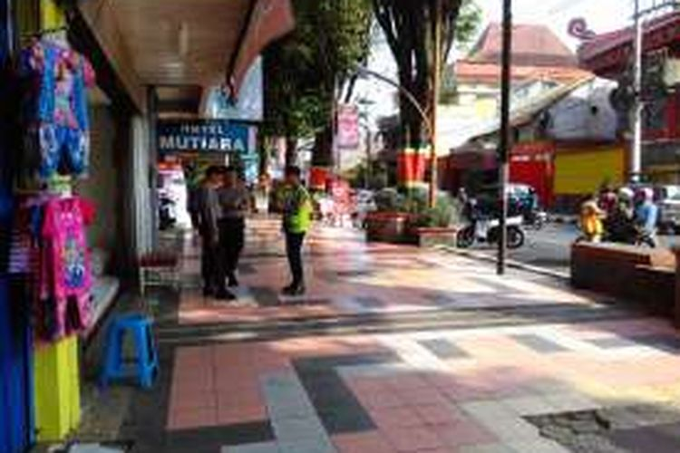 Kawasan Pecinan (Jalan Pemuda) Kota Magelang, Jawa Tengah, akan ditata dan dikembangkan dengan konsep 'Borobudur Street Market' oleh Kementerian Pariwisata.