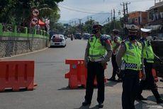 Sabtu Siang, Polisi Tutup Jalur Menuju Puncak dari Cianjur