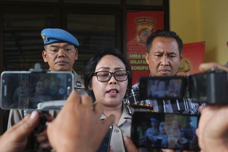 Kapolres Cianjur, Jawa Barat, AKBP Soliyah menyampaikan terima kasih kepada Kapolri Jenderal Tito Karnavian atas kenaikan pangkat luar biasa kepada empat orang anggotanya yang menjadi korban luka bakar saat mengamankan aksi unjukrasa, Kamis (15/08/2019) yang berujung ricuh.