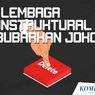 INFOGRAFIK: 10 Lembaga Nonstruktural yang Dibubarkan Presiden Jokowi