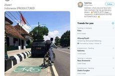 Viral Foto Mobil Dinas Terparkir di Jalur Sepeda