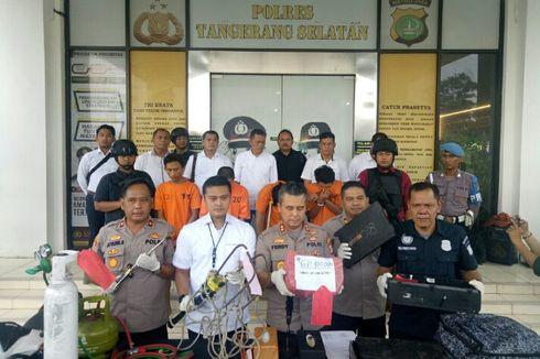 Polisi: Komplotan Pembobol ATM Telah Beraksi di 7 Minimarket Wilayah Tangsel