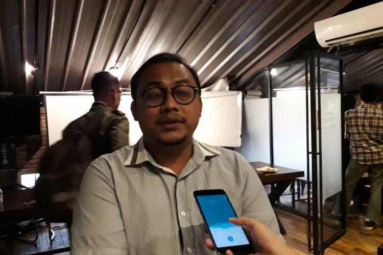 Ketua Kode Inisiatif Veri Junaidi