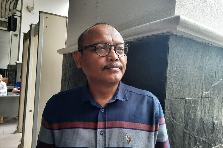 Anggota Fraksi Gerindra DPRD DKI Syarif, di Balai Kota, Jakarta Pusat, Kamis (26/12/2019)