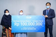 Gandeng ACT, Atomy Indonesia Salurkan Donasi Gempa Sulawesi Barat