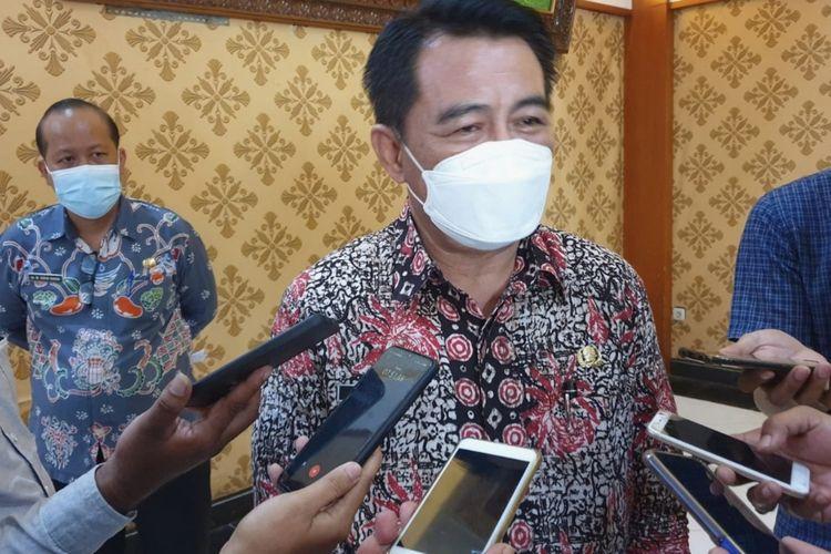 Kepala Dinas Kesehatan Kabupaten Jombang Budi Nugroho, disela kegiatan Rembug Stunting, Selasa (21/9/2021).
