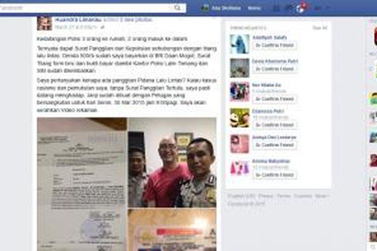 Facebook Huandra Limanau