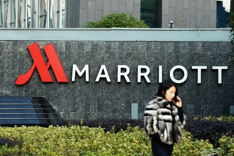 Hotel Marriott di Hangzhou, China.