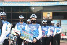 Punya Tim Sepeda, Polres Tangerang Sekalian Sosialisasi Protokol Kesehatan Saat Operasi Zebra
