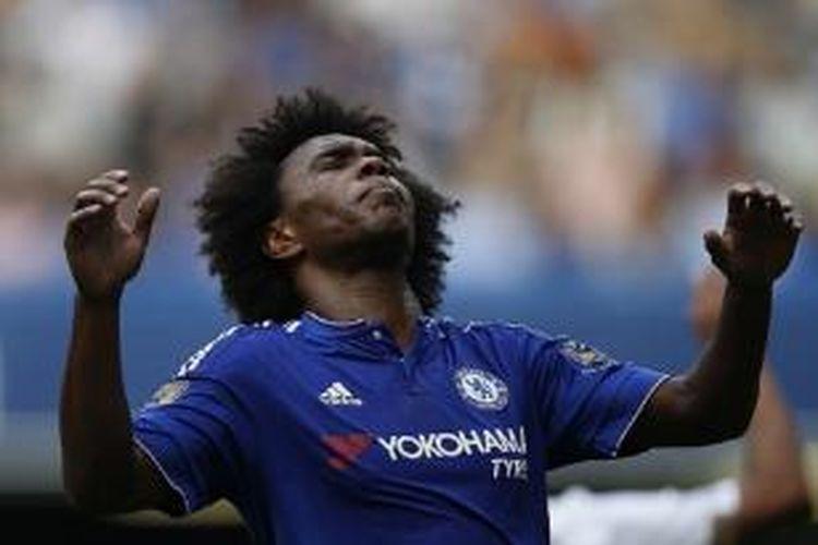 Pemain Chelsea asal Brasil, Willian.