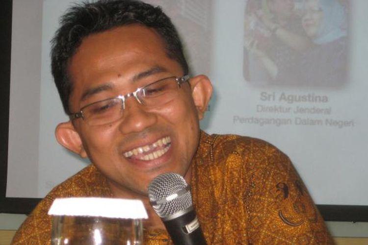 Ketua Umum Ikatan Pedagang Pasar Indonesia (Ikappi) Abdullah Mansuri