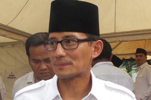 Saat Prabowo Sapa Sandiaga Uno