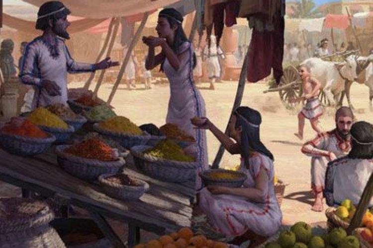 Fosil plak gigi menunjukkan jika orang Mediterania kuno telah mengonsumsi makanan impor dari Asia.
